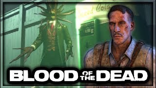 Blood of the Dead ALTERNATE Easter Egg Ending Cutscene! The Shadow Man's PLAN (Black Ops 4 Zombies)