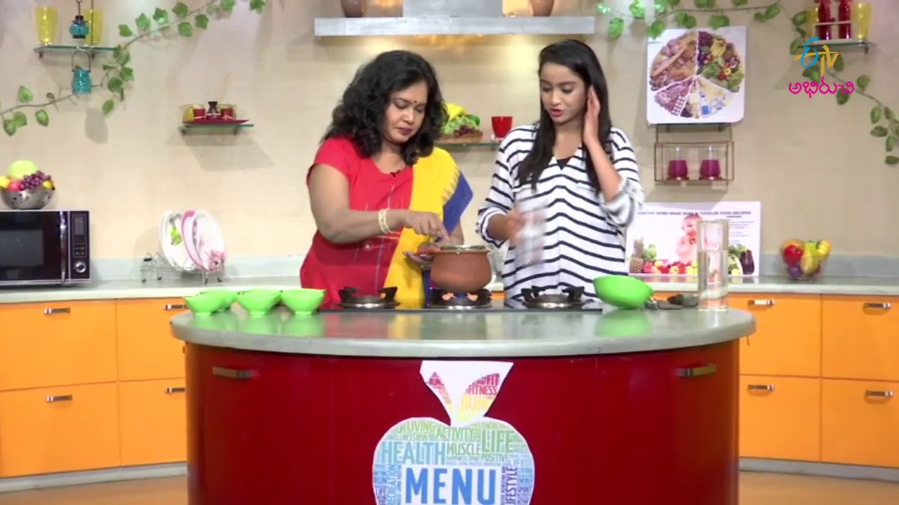 Fish curry without oil | Diet Menu | 24th August 2017 | Full Episode | ETV Abhiruch