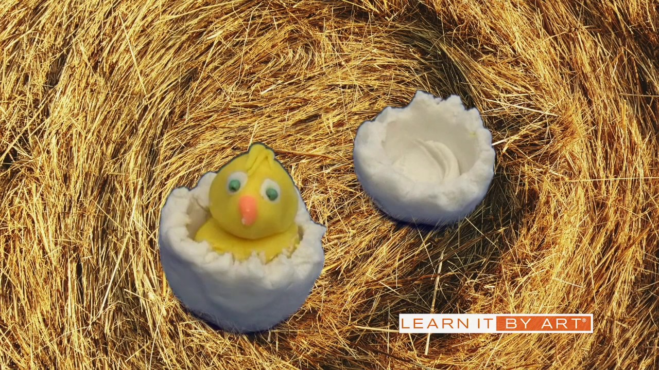 Video thumbnail for Makerspace Kit - Video & Animation, Hatching Chick Claymation