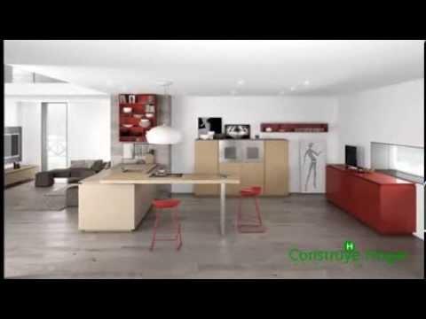Dise o de cocinas minimalistas youtube for Cocinas minimalistas
