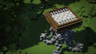 【3-D Checkers & Chess in Survival Friendly Minecraft!】