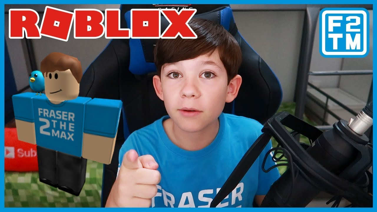 Roblox Gaming Channel Fraser2themax Youtube