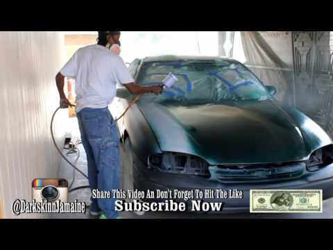 504 Whips Dee Painting DSJ Car Candy Apple Green With 17 Coat