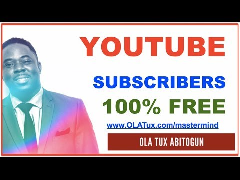 How to Get YouTube Subscribers – 100% FREE! | MLM Business Today