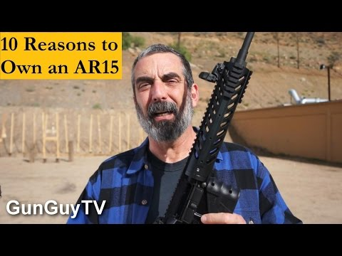10 Reasons to Own an AR15