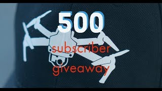 CLOSED -- 500 SUBSCRIBER GIVEAWAY - ENTER IF YOU LOVE DRONES! - CLOSED!!!!