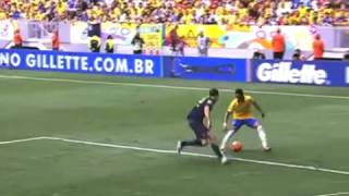 Gol de Jô - Brasil  x Australia 1x0  - Amistoso - 07-09-2013