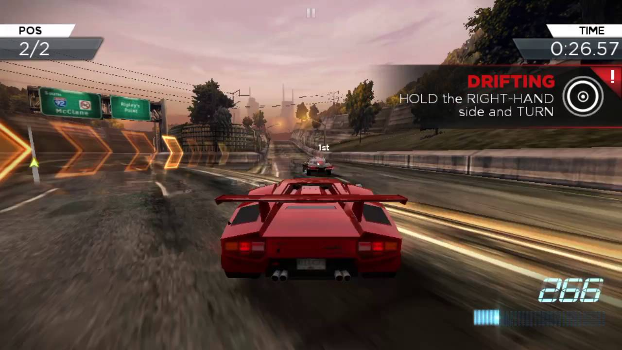 Nfs most wanted android gameplay best racing game youtube for Nfs most wanted android