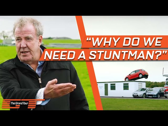 Making The Grand Tour: Stunt Driver Audition