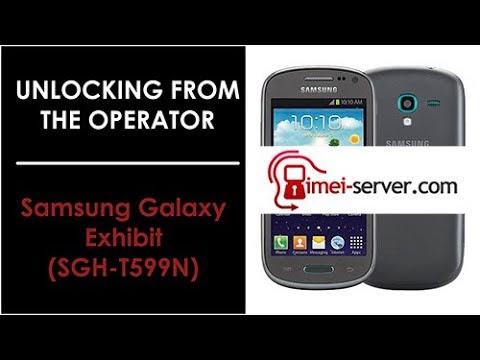 Unlock Samsung Galaxy Exhibit (SGH-T599N) MetroPCS USA