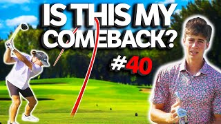 Is It My Time To COMEBACK?!? | Sunday Match #40 | GM GOLF