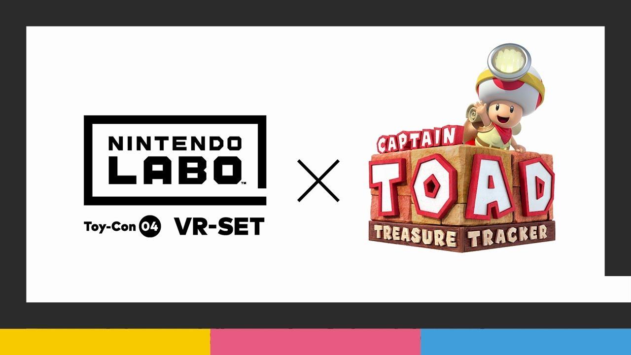 Nintendo Labo: VR-Set + Captain Toad: Treasure Tracker (Nintendo Switch)