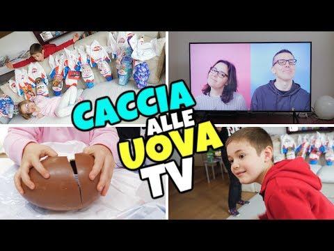CACCIA ALLE UOVA IN TV 📺: Pasqua Dolci Preziosi 2019