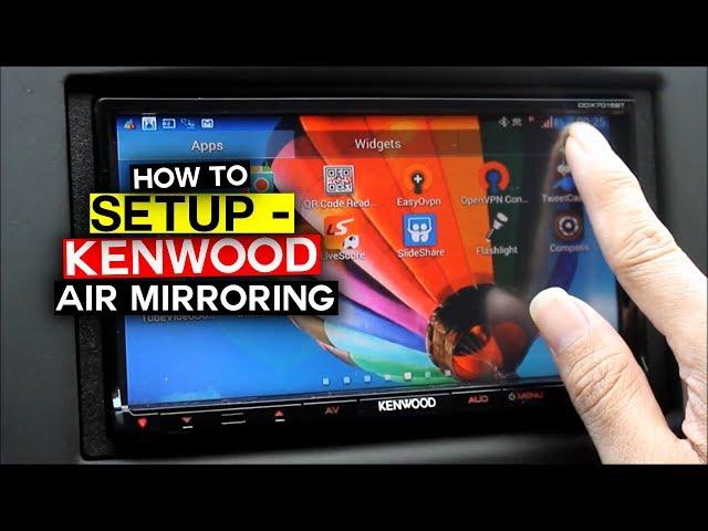 Air Mirroring di Kenwood DDX7015BT | Red Lancer EX