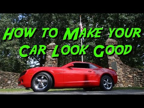 How to Make your Car Look Good