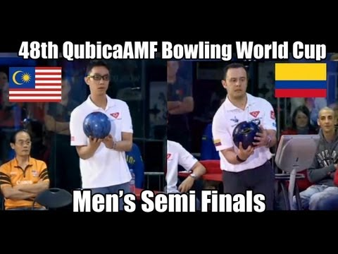 Andres Gomez vs Syafiq Ridhwan - Men's Semi Finals 2012 Bowling World Cup Poland