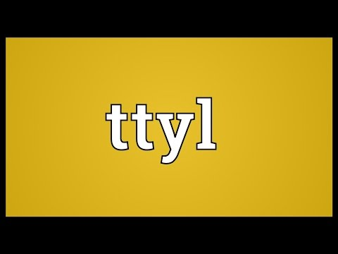 What does ttyl mean buzzpls com for Rofl meaning in text