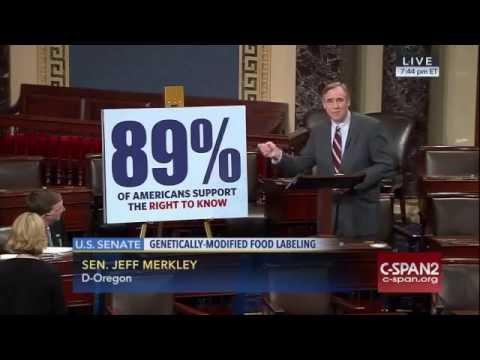 Sen. Jeff Merkley speaks AGAINST the DARK Act EXTREME 7-7-16 First time-GMO Debate