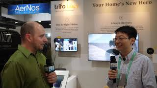 Trifo - Lucy Robotic Vacuum With Object Recognition - Interview - CES 2020 - Poc Network