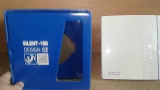 Подключение, тест и обзор вентилятора Soler & Palau SILENT-100 CZ DESIGN: