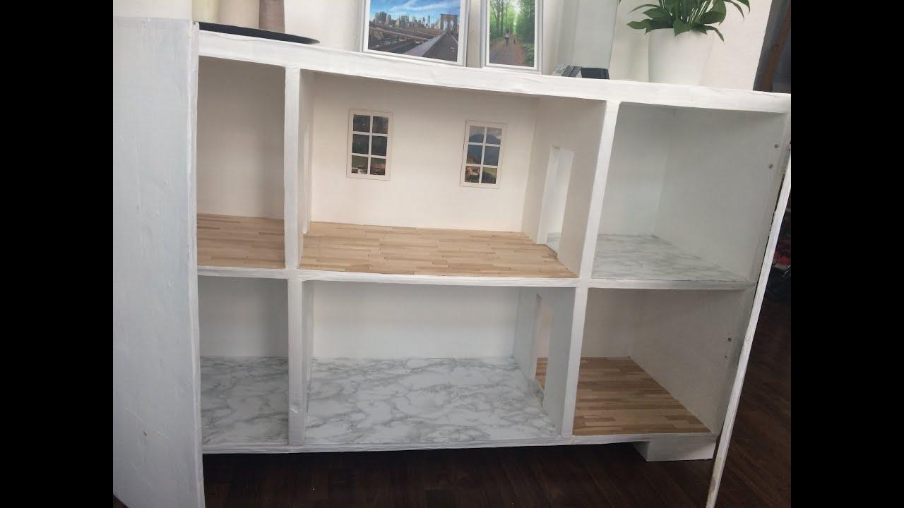 Dollhouse In Kitchen Cabinet