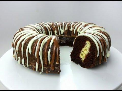 CHOCOLATE CHEESECAKE CAKE (How to)