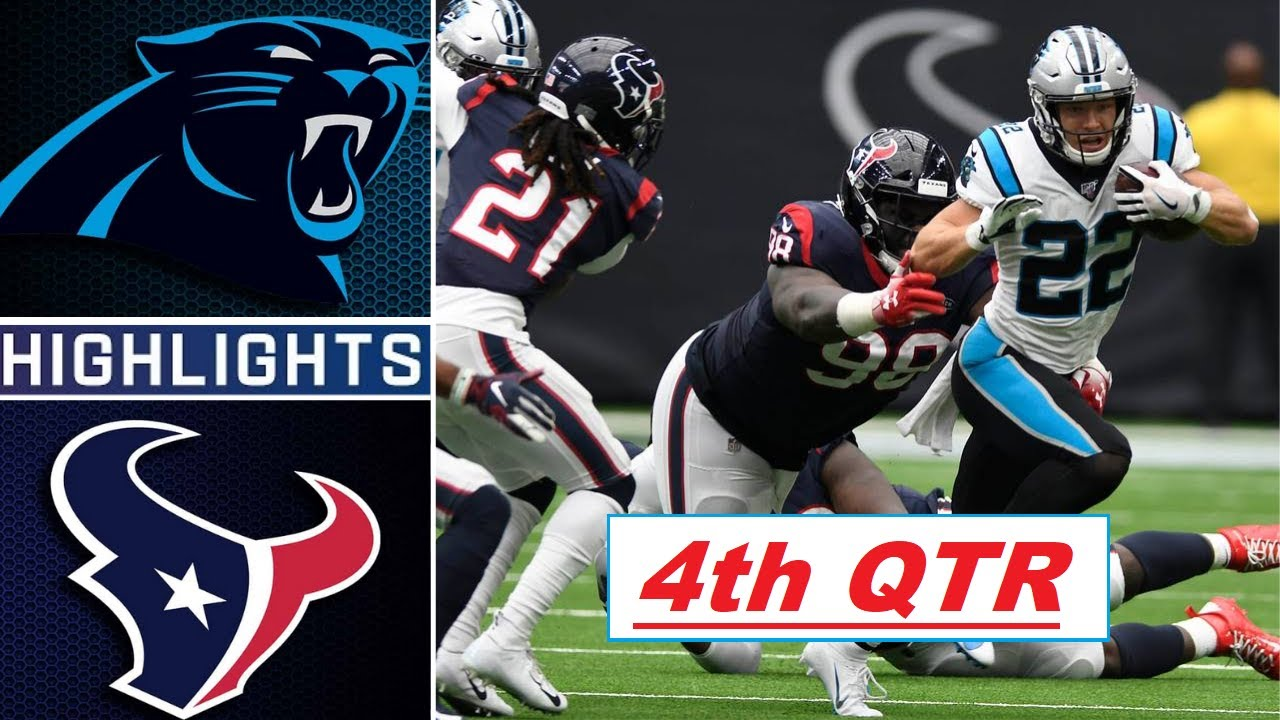 Download Carolina Panthers vs Houston Texans Highlights 4th-Qtr | NFL Week 3 | Thursday Night Football