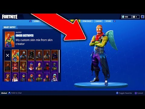 How to Create Your Own Skin in Fortnite: Battle Royale! NEW Fortnite Free Skin Creator