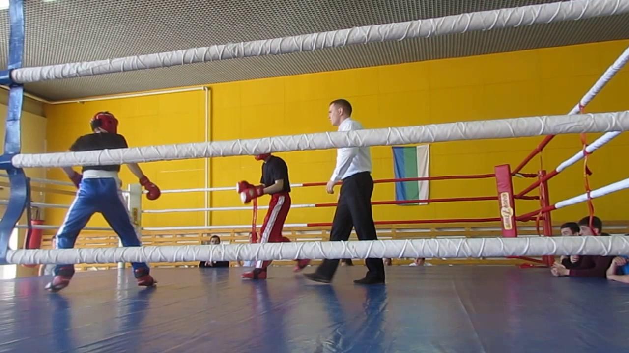 кикбоксинг бой 15 лет