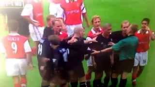 Patrick Viera vs Roy Keane and Stam