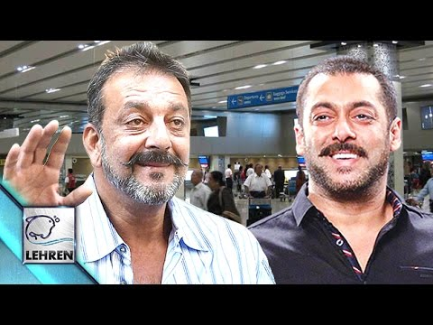 salman-khan's-special-welcome-for-sanjay-dutt-|-lehrentv