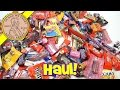 Halloween 2015 Candy Haul - Trick Or Treat!