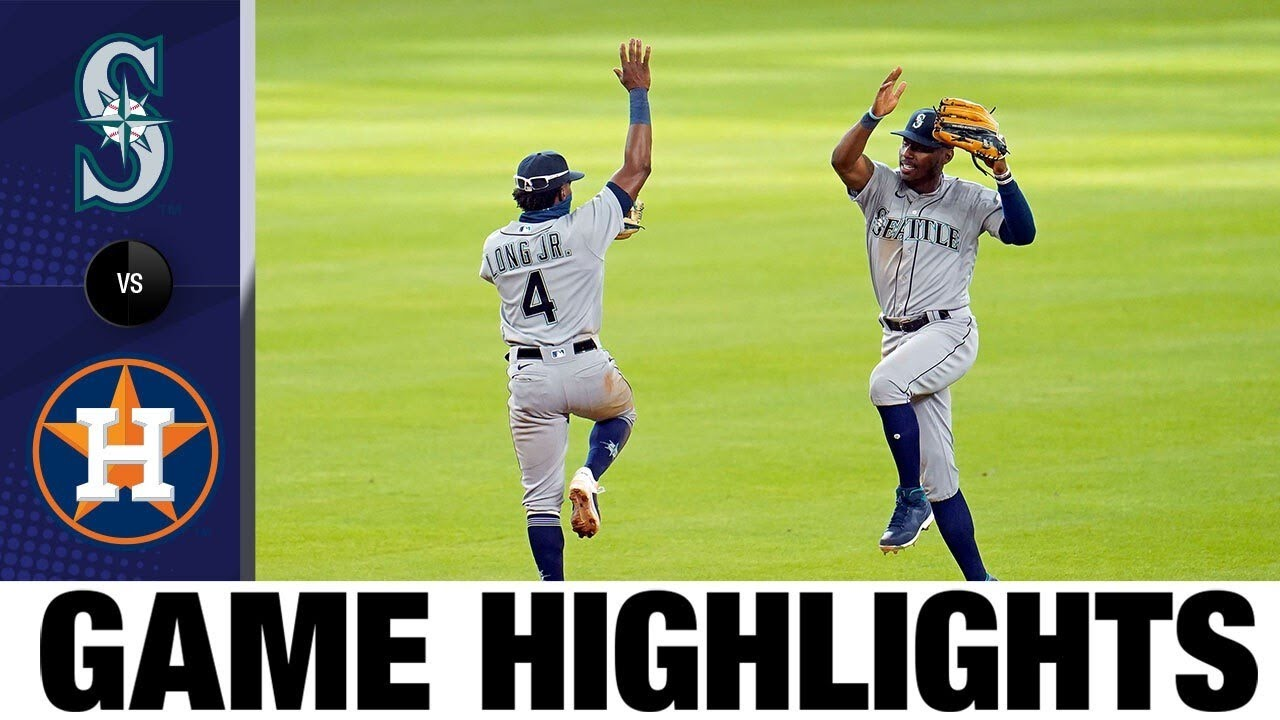 Shed Long Jr., Kyle Lewis lead Mariners' late rally | Mariners-Astros Game Highlights 7/26/20