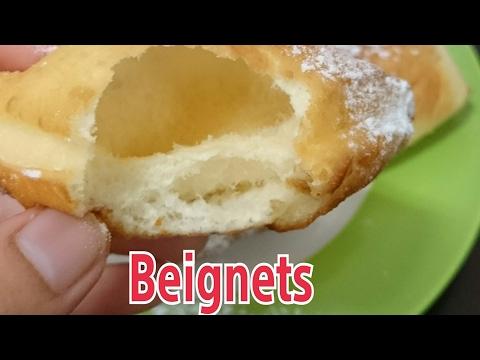 Cara membuat Beignets/donat kopong