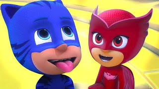 PJ Masks Full Episodes - CATBOY SQUARED - Cartoons for Children