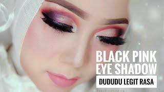 Make up wedding istimewa black pink eye shadow du du du