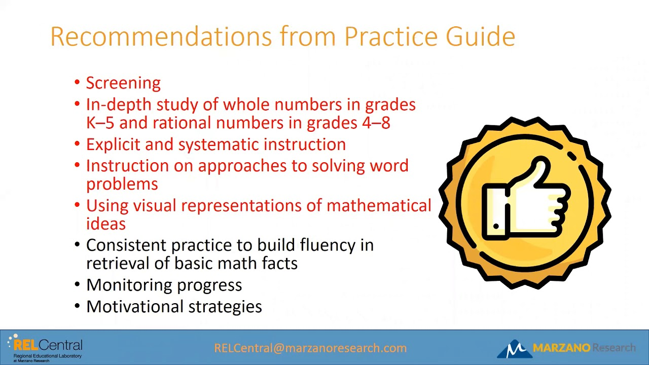 Using Questioning Strategies To Support Struggling Math Students