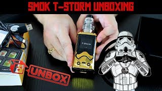 SMOK T-Storm UNBOXING!   A New StormTrooper Mod Just In Time!