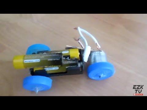 Basit Elektrikli Araba Nasıl Yapılır | Ev Yapımı Mini Araba