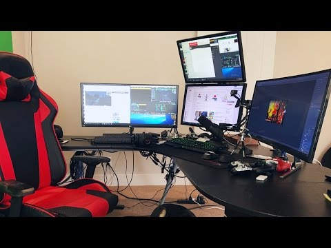 World's Best Gaming Setup / YouTube Setup $$$