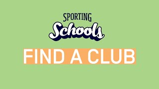 Sport is fun! Find a Club