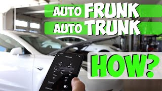 Tesla Model 3 Auto Lift Trunk and Frunk - How To...