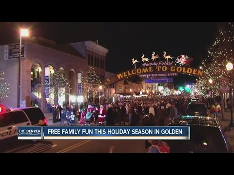 Golden, Colorado is ready for another holiday season