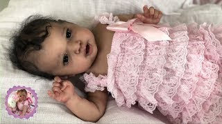 * STUNNING BABY GIRL * REBORN BOX OPENING - PROTOTYPE BY ANGELA PLICKA