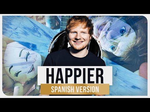 "Ed Sheeran - Happier Spanish  Ziccard from ""April &39;99"""