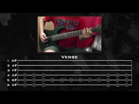 Linkin Park - Papercut (Guitar Tutorials w/ Tabs) by Kirjai