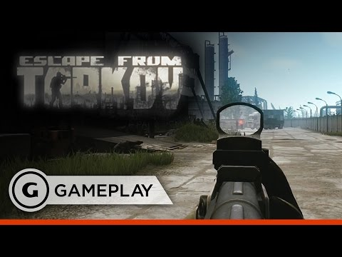Escape From Tarkov Official Closed Alpha Gameplay