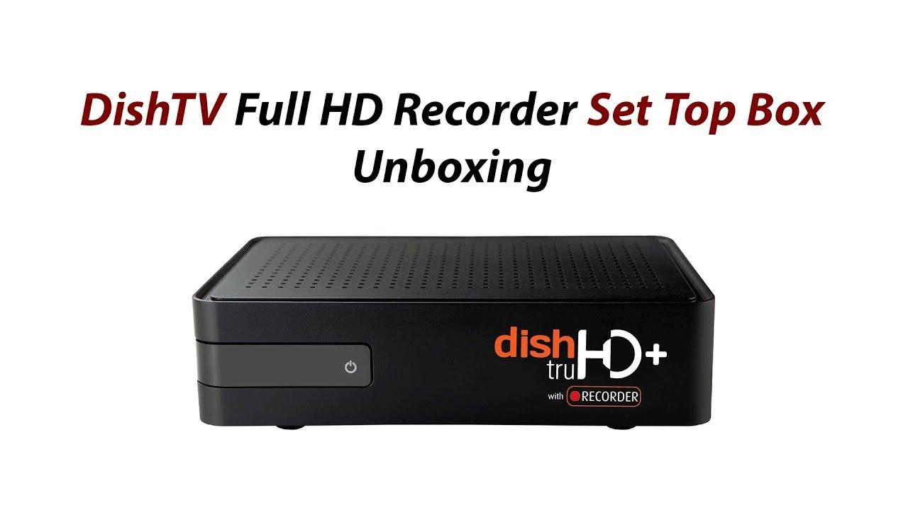 dish tv box diagram wiring diagram splitdishtv full hd recorder set top box unboxing and review [ 1280 x 720 Pixel ]