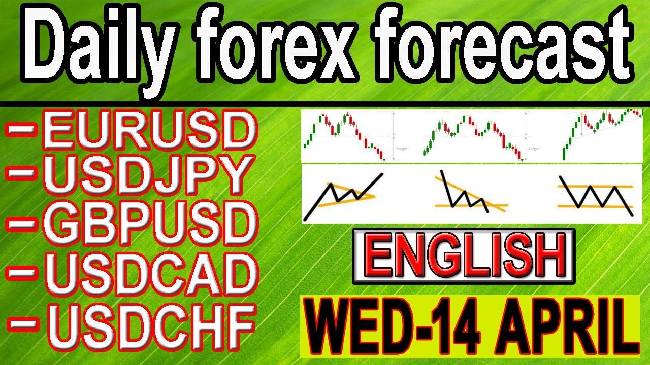 ( 14 april ) daily forex forecast | EURUSD | USDJPY | GPBUSD | USDCAD | USDCHF | forex | English |