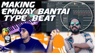 How To Make Emiway Bantai Song In FL Studio | Making A Beat From Scratch In FL Studio |